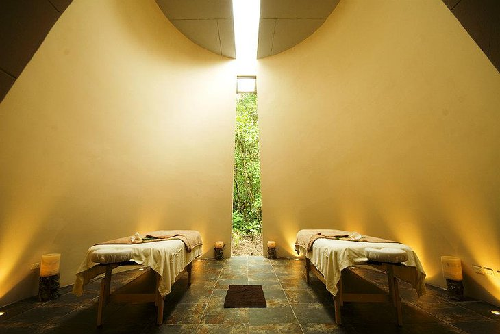 El Silencio Lodge spa