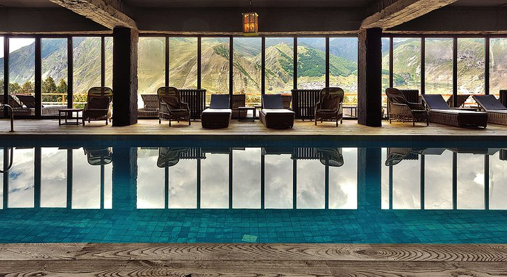 Rooms Hotel Kazbegi Swimming Pool