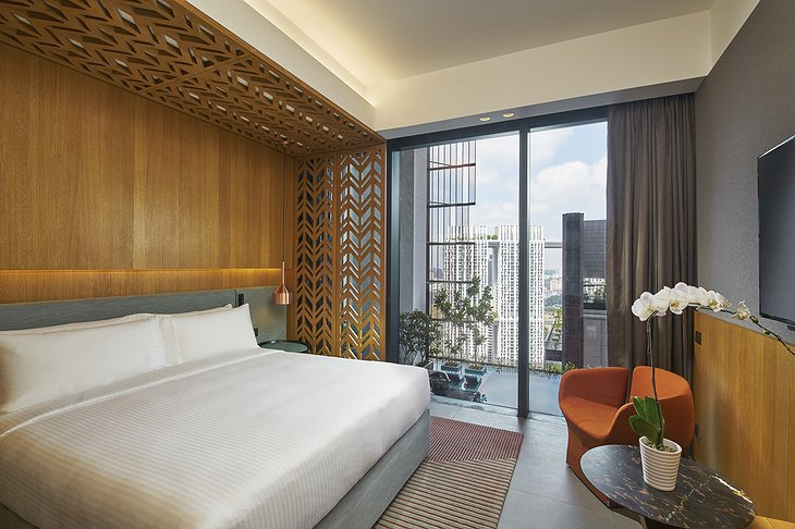 Oasia Hotel Downtown Singapore Club Room City View