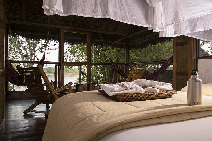 Inkaterra Reserva Amazonica Lodge Room Overlooking the River