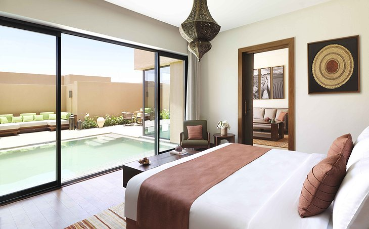 Anantara Al Jabal Al Akhdar Resort room with private pool