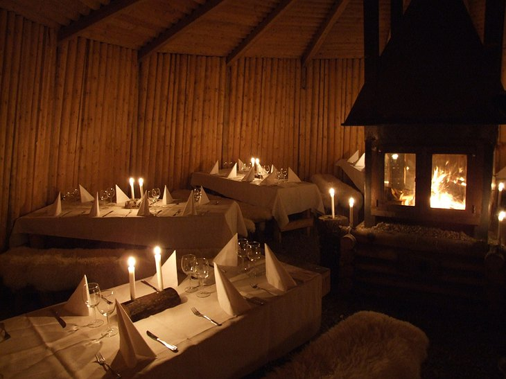 Eco Lodge restaurant