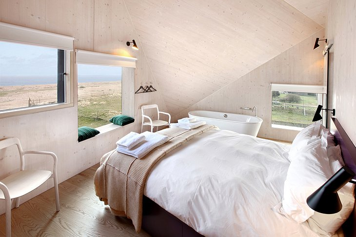 The Dune House room with sea view