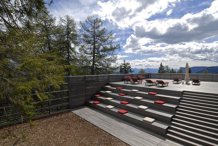 Vigilius hotel elite hosting for Pool garden mountain resort argao