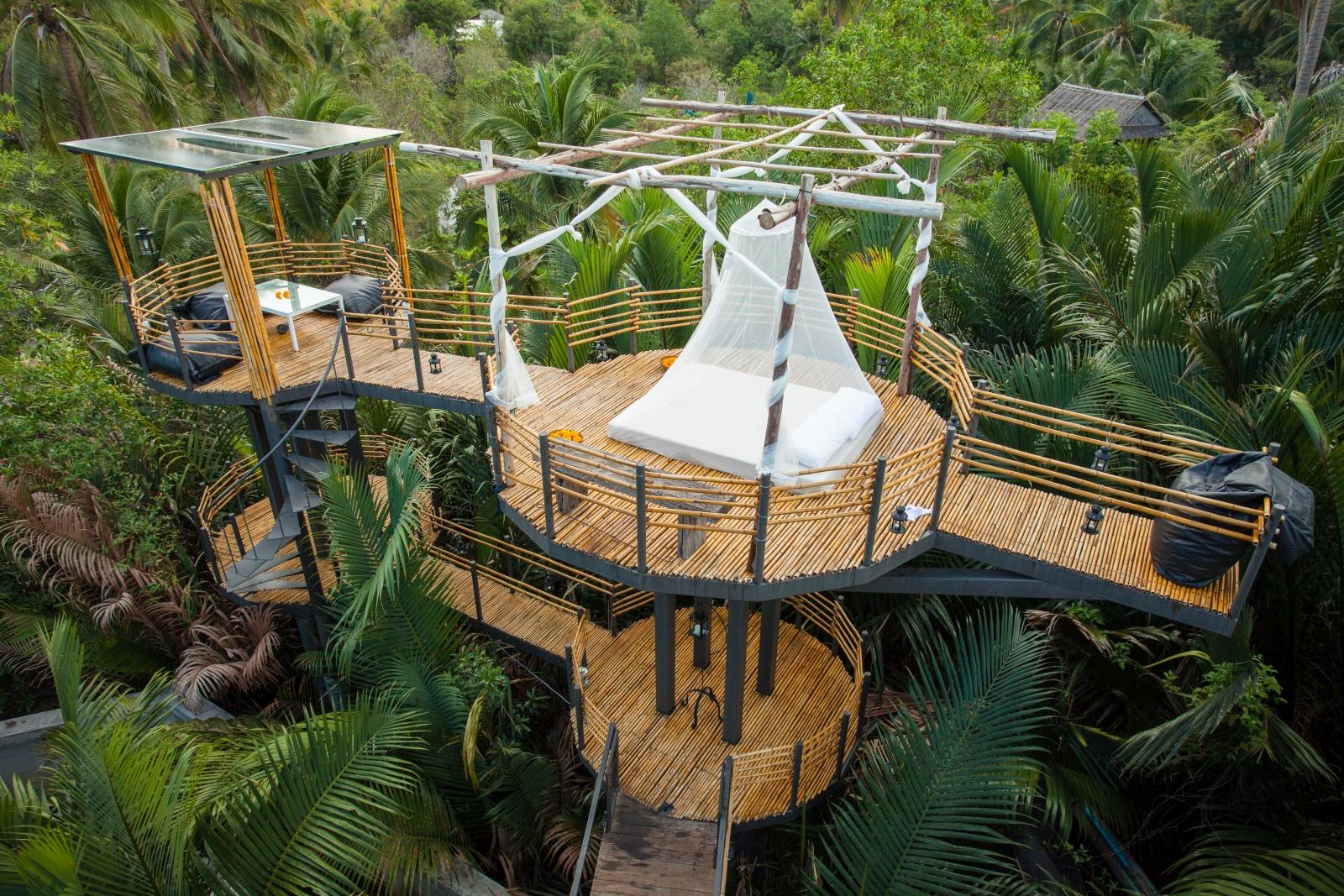 bangkok tree house eco friendly escape rh uniqhotels com