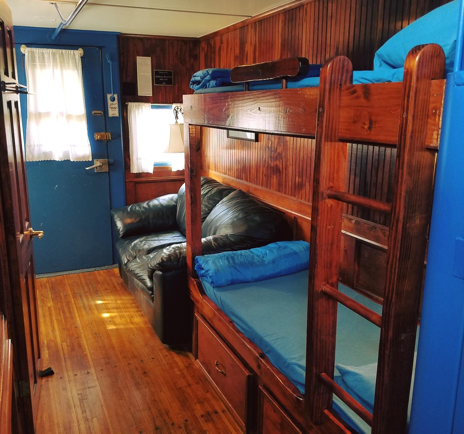 Sleep In Antique Train Cars