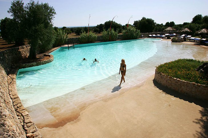 Masseria Torre Coccaro swimming pool