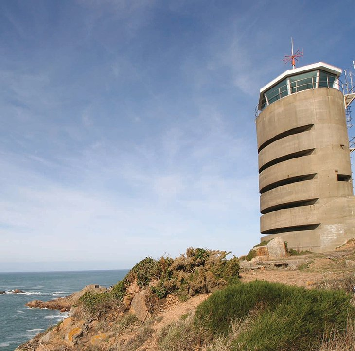 La Corbiere Radio Tower German world war two radio tower