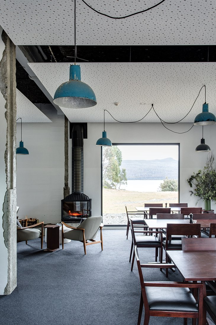 Pumphouse Point dining room