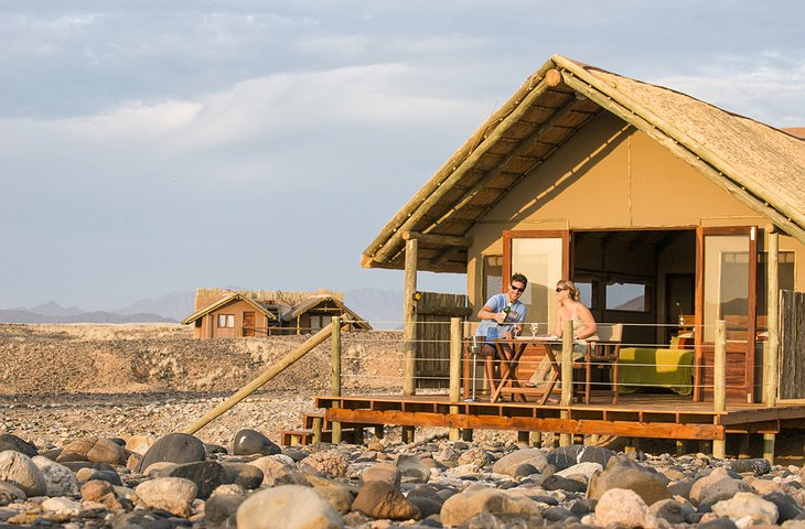 Kulala Desert Lodge house with private balcony