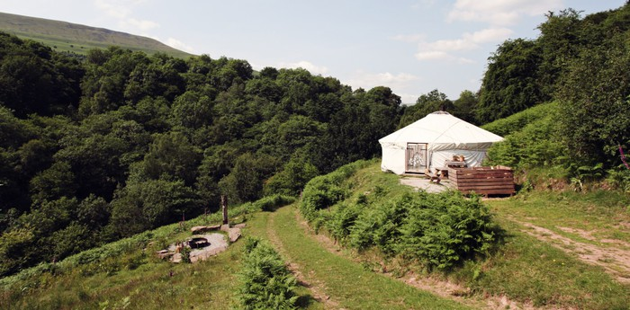 Black Mountains Yurt - Traditional eco-living in Wales