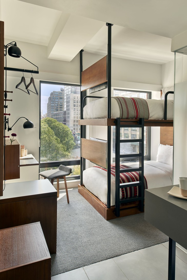 Arlo Hudson Square bunk bed room