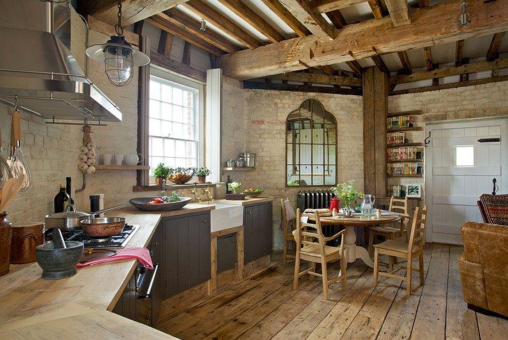Old Smock Mill kitchen