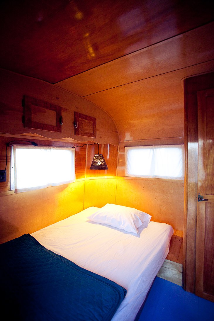 Branstrator trailer bedroom