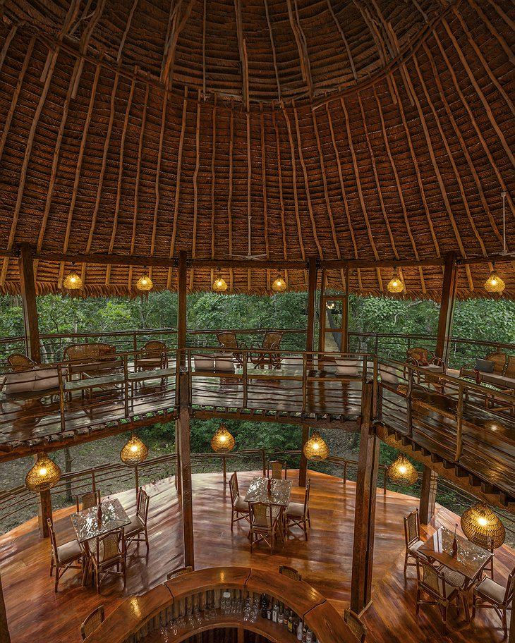 Treehouse Lodge Iquitos restaurant