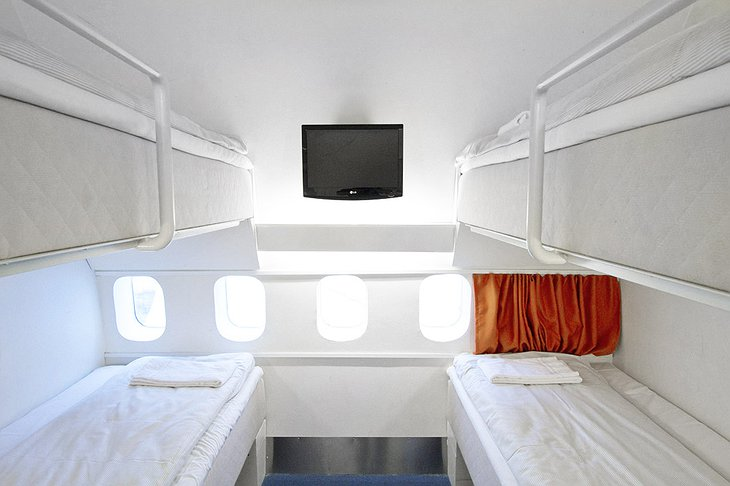 Rooms in Boeing 747