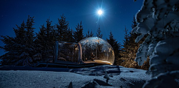 Buubble - Aurora Bubble Hotel in Iceland