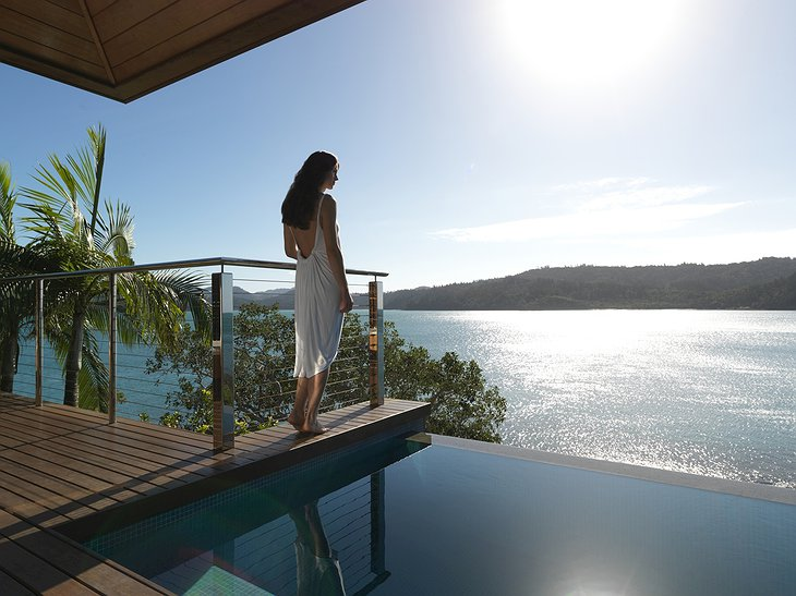 Qualia Hamilton Island pool views