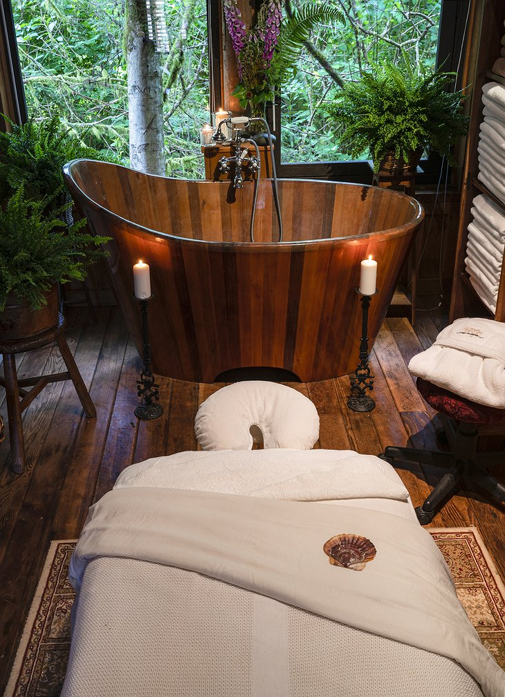 Clayoquot Wilderness Resort Spa Treatment Room