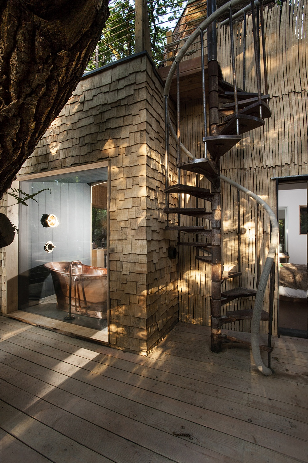 The Woodman S Treehouse Luxury Treehouse In Dorset For A