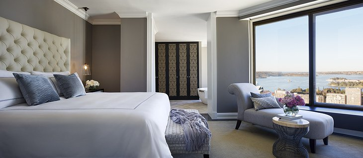 Four Seasons Sydney bedroom