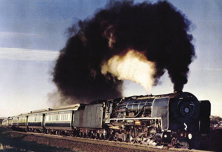 The Blue Train in 1963