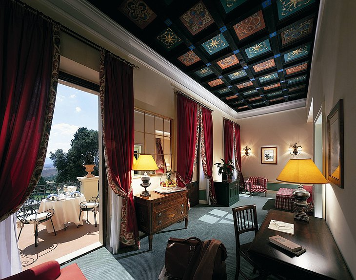 Fonteverde suite with balcony