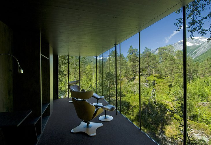 Juvet Landscape Hotel from the inside