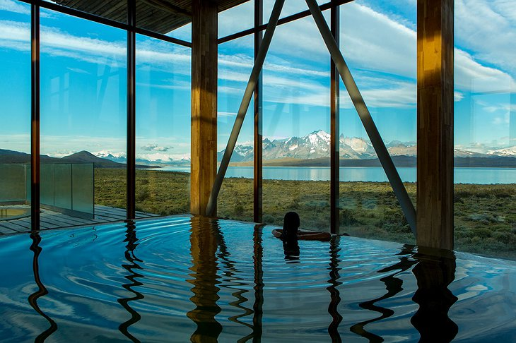 Tierra Patagonia Indoor Swimming Pool