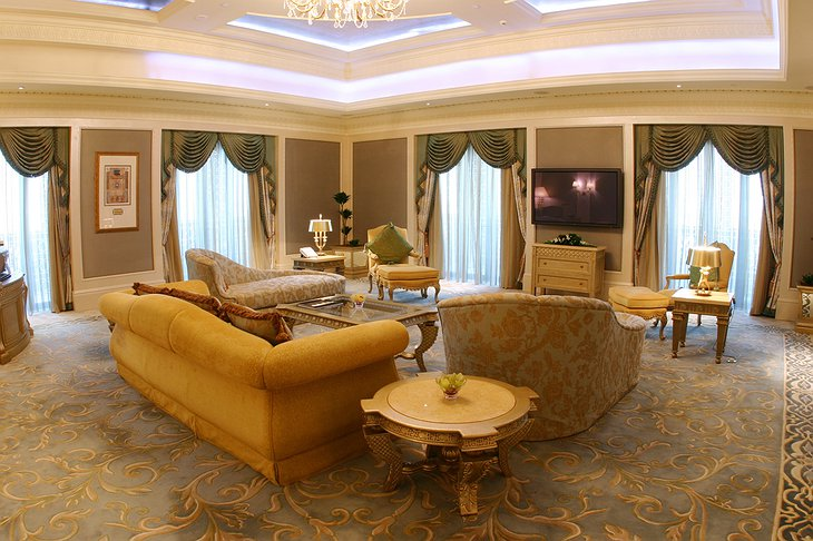 Emirates Palace suite living room