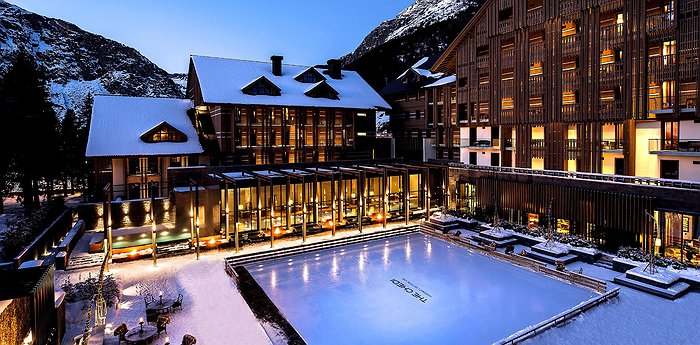 The Chedi Andermatt - Alpine, Asian, 5-Star, Deluxe Spa Hotel