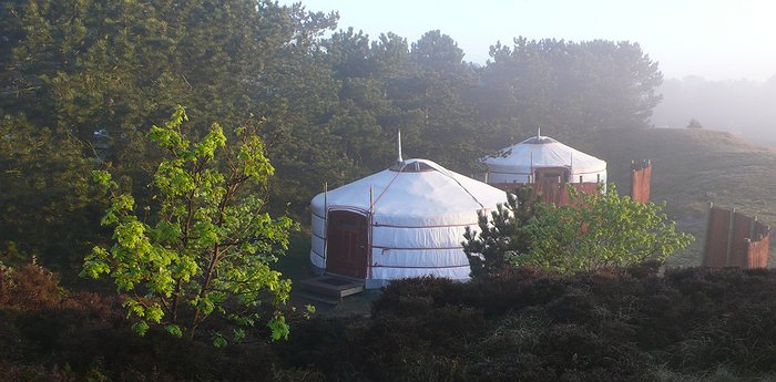 Texel Yurts - Warm and Inviting Yurt Camp