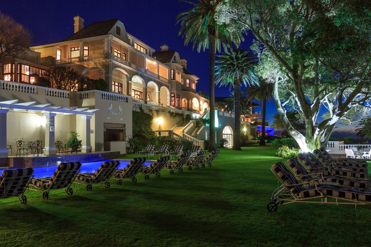 Ellerman House in the evening