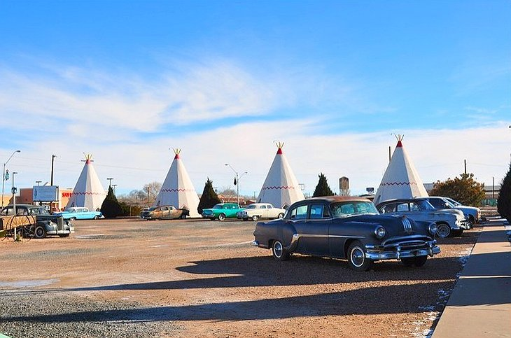 Wigwam Motel camp site