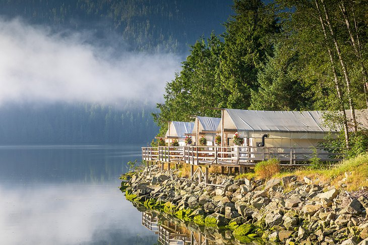 Clayoquot Wilderness Resort Sunrise Waterfront Ensuite Tents