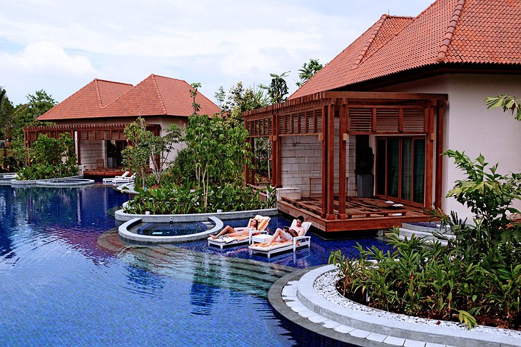 Beach Villas with private pools