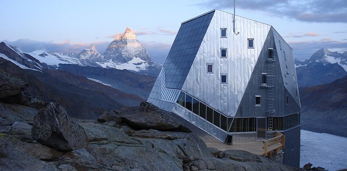 The New Monte Rosa Hut - Eco-Futuristic Alpine Architecture