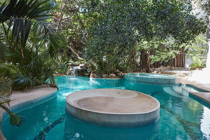 Watamu Treehouse pools