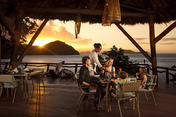 Seagrass Restaurant at Laucala Island Resort