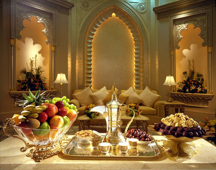 Emirates Palace room service
