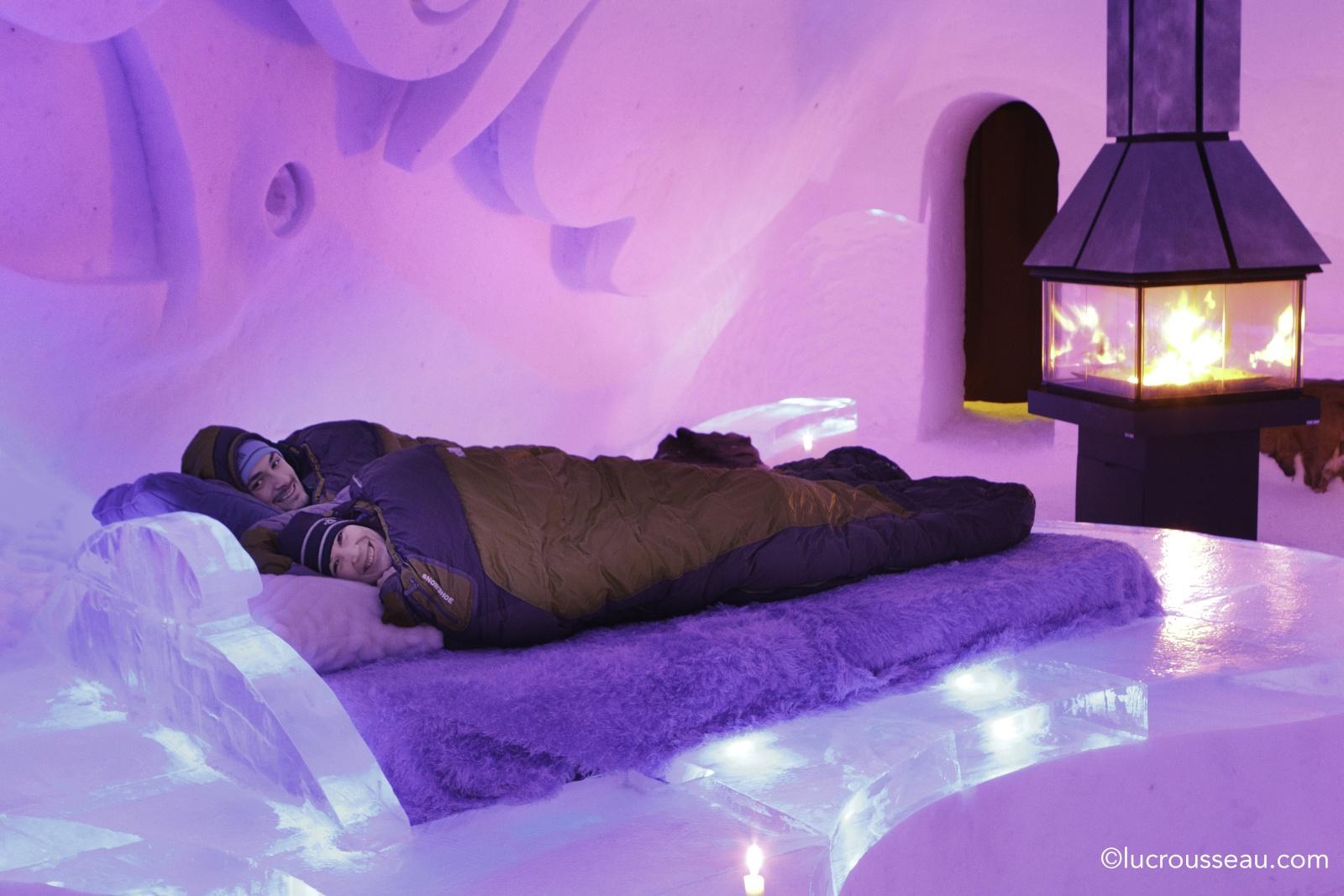 hotel de glace. Black Bedroom Furniture Sets. Home Design Ideas