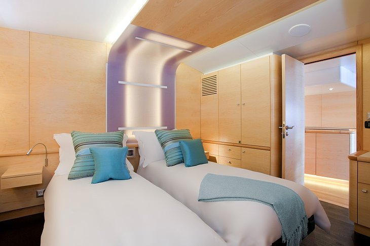 Necker Belle yacht room