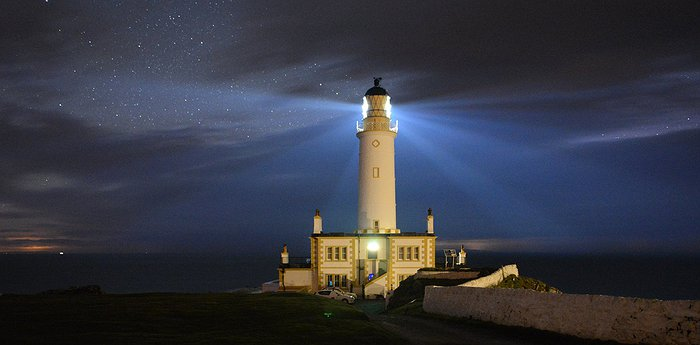 Corsewall Lighthouse - Beacon Of The Irish Sea