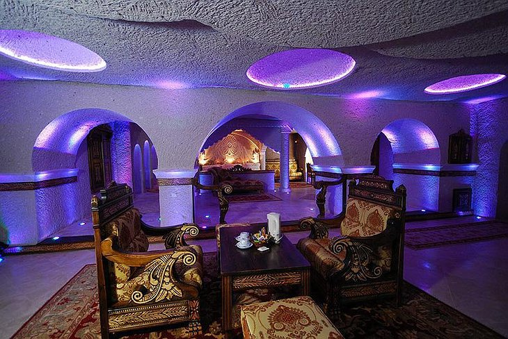 Gamirasu Cave Hotel luxury room