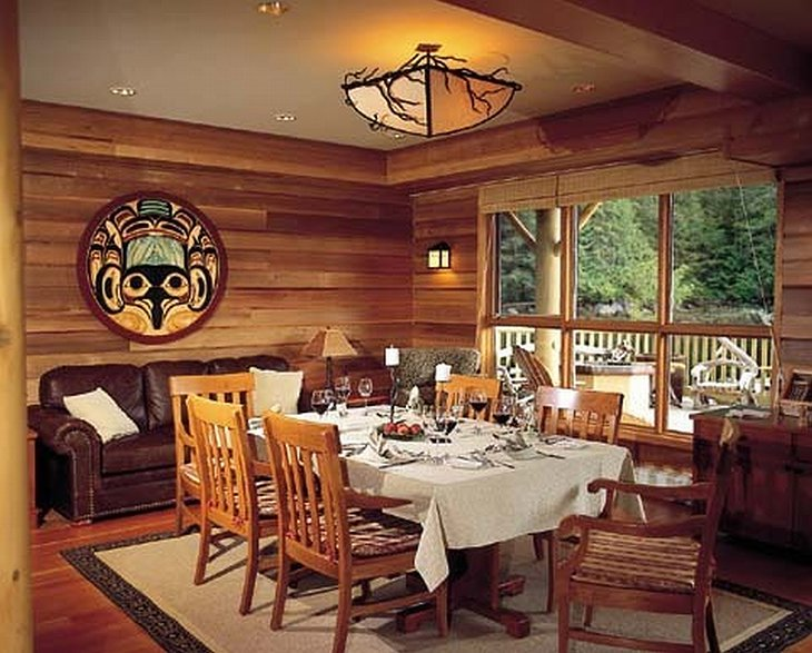 King Pacific Lodge restaurant