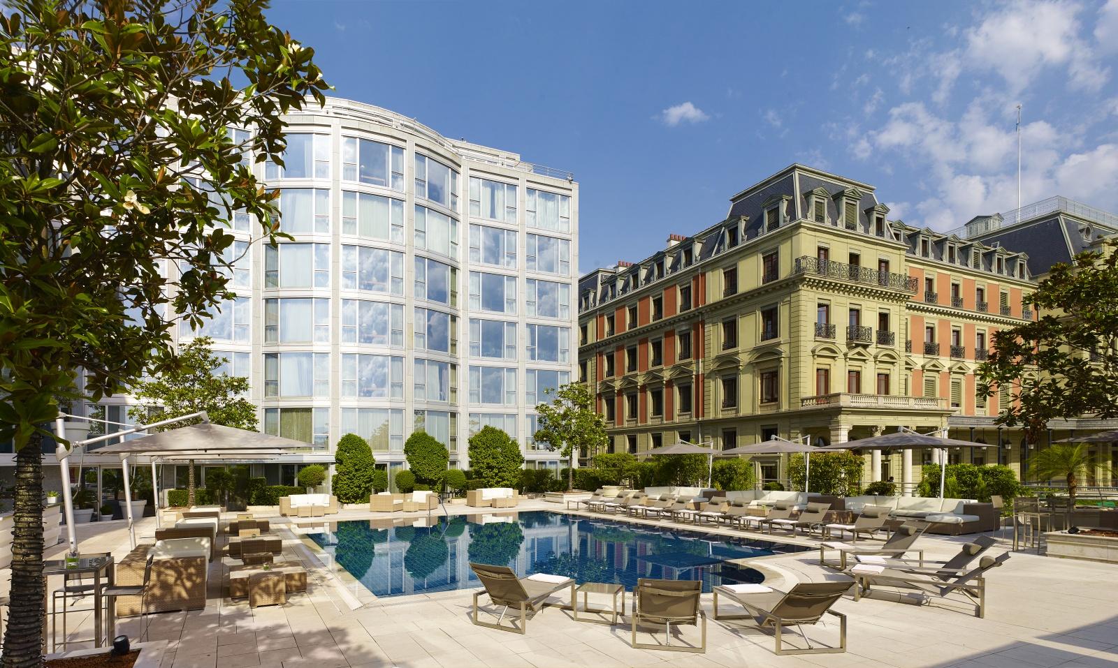 Hotel president wilson geneva splendid views on lake geneva for Design hotel 16 geneva