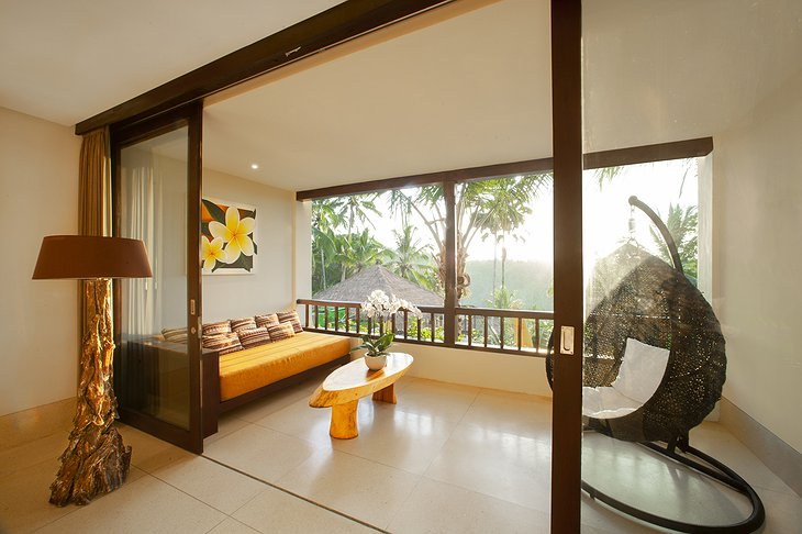 Nandini Jungle Resort Royal Suite Balcony