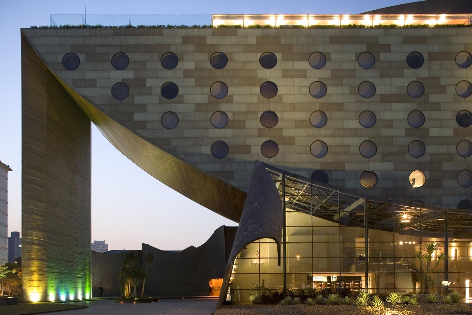 Hotel Unique Sao Paolo Go To Cool School From The Future