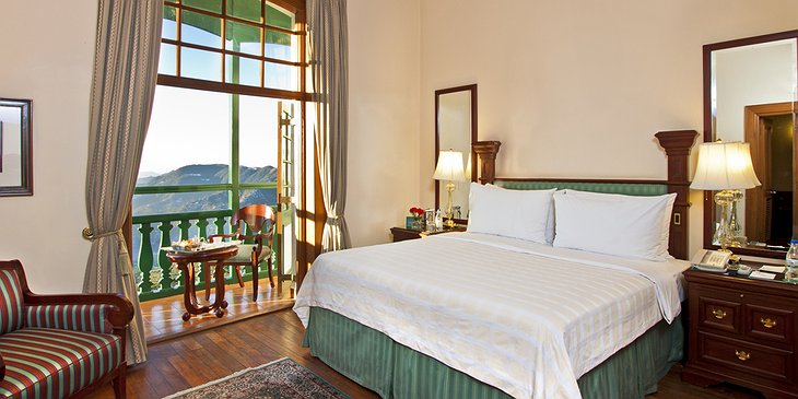 The Oberoi Cecil deluxe suite with mountain views