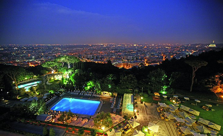View on Rome from Rome Cavalieri